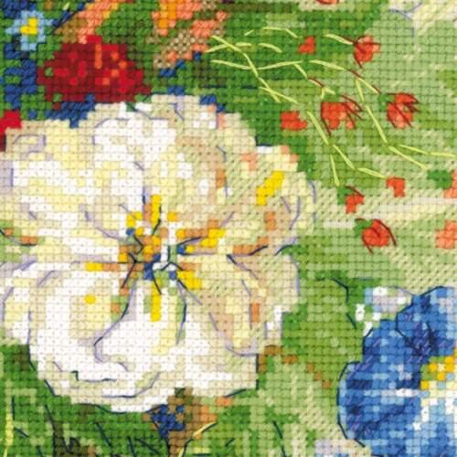 "Counted Cross Stitch Kit RIOLIS 100//042 /""Flemish Summer/"""