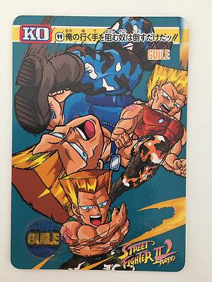Street Fighter II/' Turbo KO Carddass 86