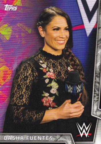 #12 dasha fuentes 2018 Topps WWE Women/'s Division Walker