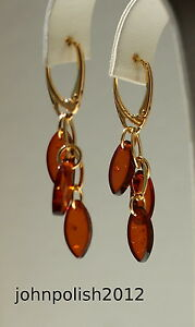 Cute-Baltic-Amber-Earrings-with-Gold-Plated-Silver-925