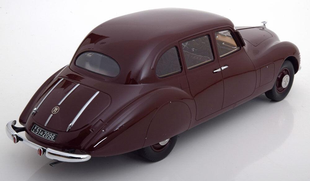 1948 1948 1948 Horch 930S Streamliner Rouge Foncé le de 300 1/18 Échelle Nouvelle Version   Le Moins Cher    Nouveau Produit    Matériaux De Haute Qualité  c011d1