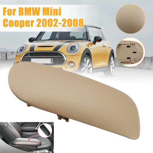 Beige Konsole Armlehne Deckel Mittelarmlehne Abdeckung Für BMW Mini Cooper 02-08