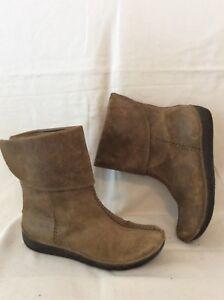 5d Botas tamaño de tobillo cuero 6 marrón Clarks 8Tq8xB