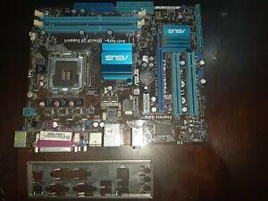 Asus-P5G41T-MLX-LGA775-ATX-Motherboard-Back-plate-i-o-shield