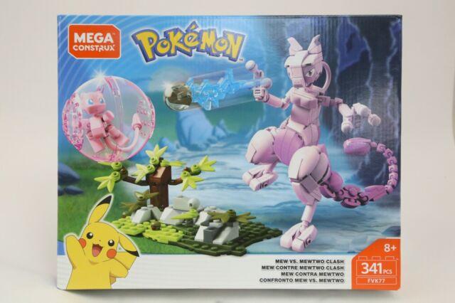 Mega Construx Pokemon Mew Vs Mewtwo Clash NEW