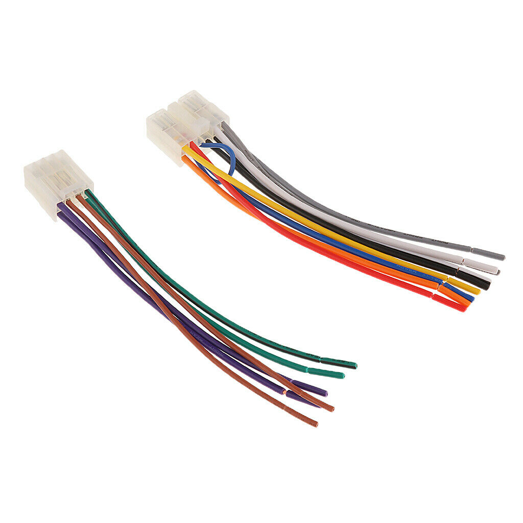 Car Stereo Wire Audio Wiring Harness Adapter Plug 10pin 6pin for Toyota for  sale online   eBayeBay