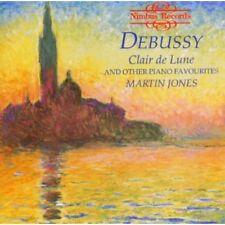 Martin Jones, DeBuss - Claire de Lune & Other Piano Favorites [New CD]