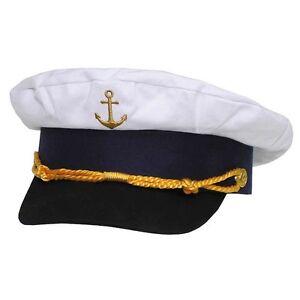 La imagen se está cargando Gorra-de-Marinero-Capitan-Casquillo-Del-Sombrero -Schiffahrt- 0f148469c0b