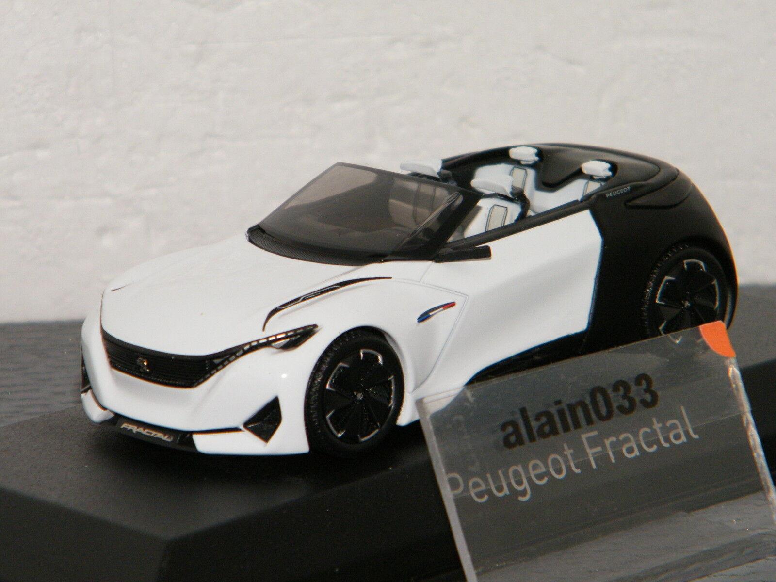 PEUGEOT Concept Car Fractal Salon de Francfort 2015 Cabrio NOREV 1 43 - 479989