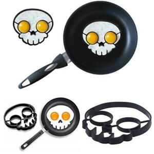 Metal Egg Frying Rings Perfect Circle Round Fried//Poach Mould — Non Stick Handle