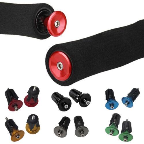 Road Bike MTB Cycling Cycle Handlebar Bar Cap End Grip Handle Plug Cover 1PC