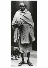 Postcard Mahatma Gandhi - Photo at #10 Downing Street. NEW, vintage post card