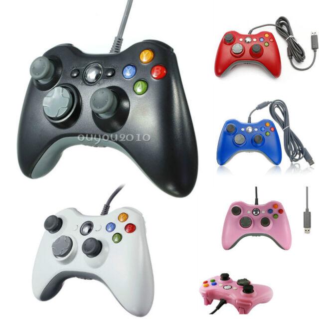 USB Wired Gamepad Joypad Controller For MICROSOFT Xbox 360 & Slim PC Windows 7