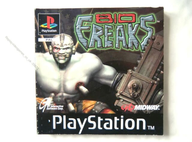 55672 manual de instrucciones-Bio Freaks-Sony PS1 Playstation 1 (1997) SLES 0131