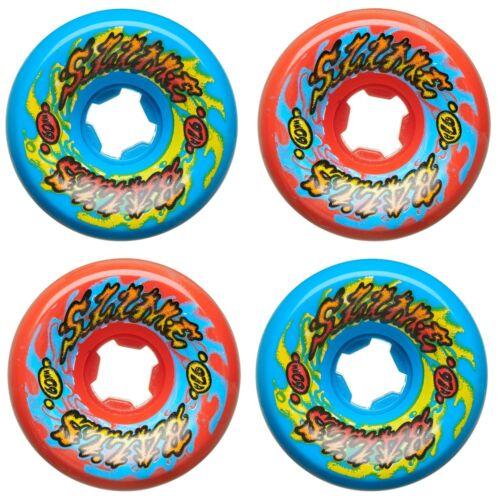 Santa-Cruz-SLIME-BALLS-GOOOBERZ-VOMITS-Skateboard-Wheels-60mm-97a-RED-BLUE-MIX