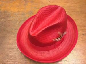 Capas Godfather Mens Straw Summer Hats Made in U.S.A Brand New with Tags