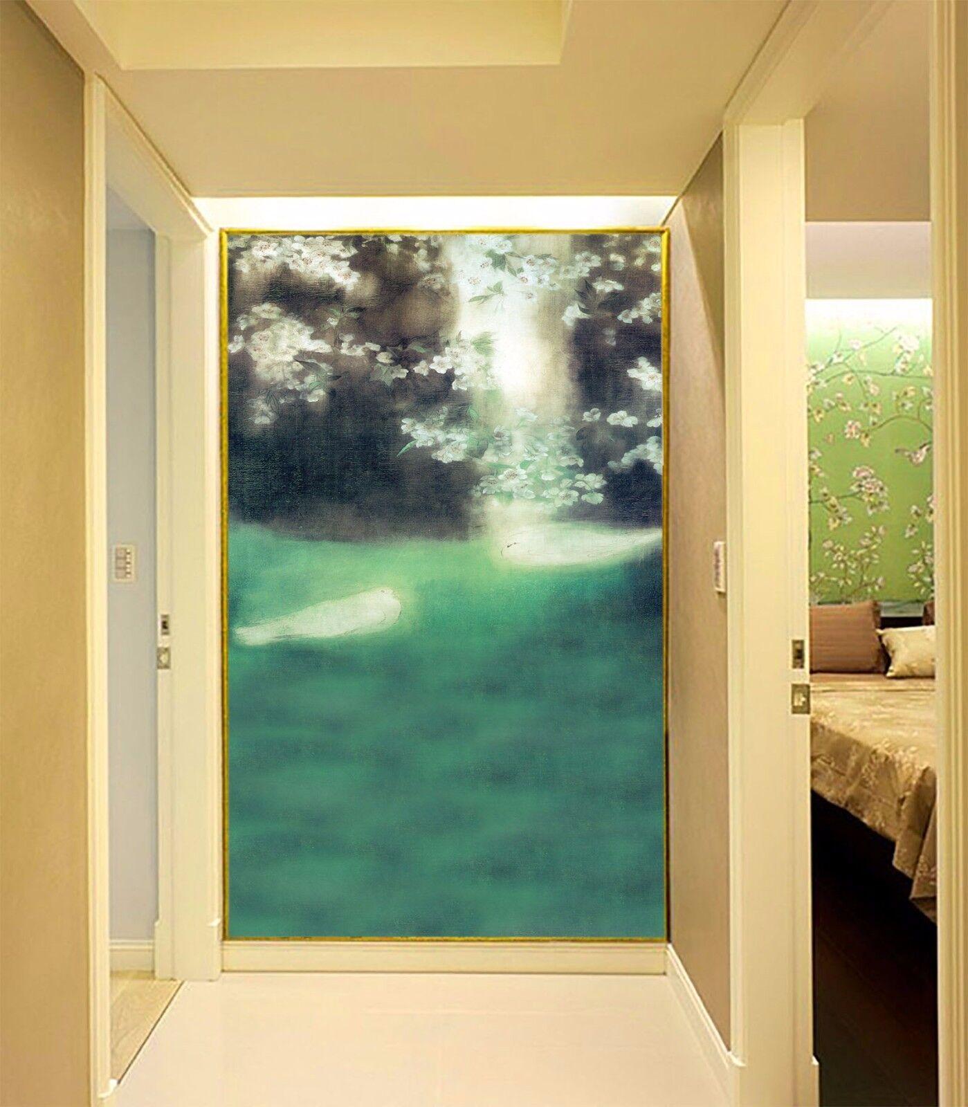 3D Nebligen Garten 805 805 805 Tapete Wandgemälde Tapete Tapeten Bild Familie DE Summer | Mode-Muster  |  7979e6