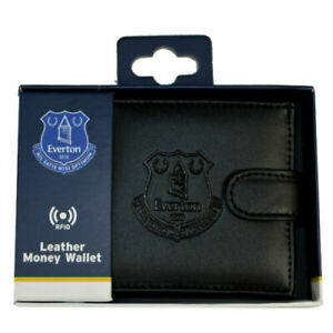Everton-FC-Debossed-Crest-Official-Leather-RFID-Money-Card-Wallet