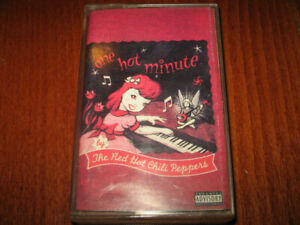 Red Hot Chili Peppers One Hot Minute Made in Bulgaria Edition 1998 cassette Rare