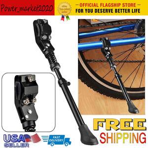 Center Mount Aluminum Leg Bicycle Kickstand Adjustable Fits 16/'-26/'