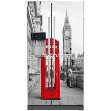 Stickers frigo américain Londres 100x180cm 5762 5762
