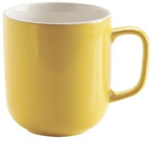 Price-amp-Kensington-Set-of-6-Large-Mugs-Large-Coffee-Stoneware-Mug-Bright-Yellow