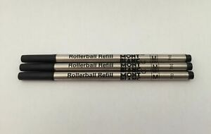 x3-Black-Medium-Rollerball-Refills-Compatible-with-Mont-Blanc