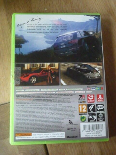 TDU 2 Test Drive Unlimited, Xbox 360, anden genre