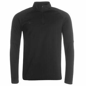 Nike-Academy-Mid-Layer-Top-Mens-Triple-Black-Sweater-Sweatshirt