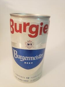 Burgie Burgermeister Beer Can 12 Oz Pabst Brewing Company Vintage Bar Decor Ebay