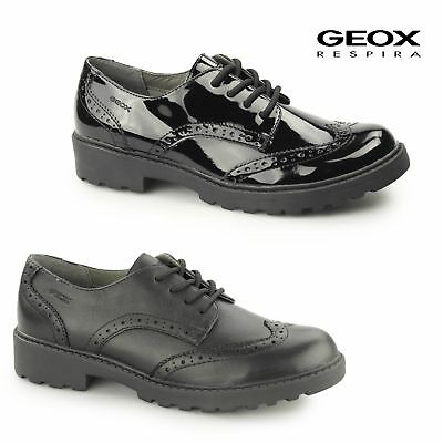 GEOX JR CASEY Girls Patent/Leather