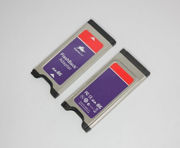 34mm FlashBack Adapter For SDXC/SDHC Card,Support SDXC to 64GB, SDAD-111