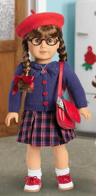 American Girl Doll MOLLY Beforever Meet Outfit NIB. Retired. New