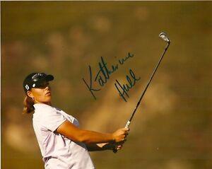 LPGA-Katherine-Hull-Autographed-Signed-8x10-Photo-COA