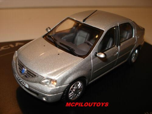 Eligor Dacia Logan Sammlung 2 Prestige 2006 Grau Au 1//43°