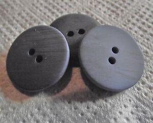 10  BOUTONS transparents NEUFS  11 mm  2 trous 1,1 cm button sewing lot mercerie