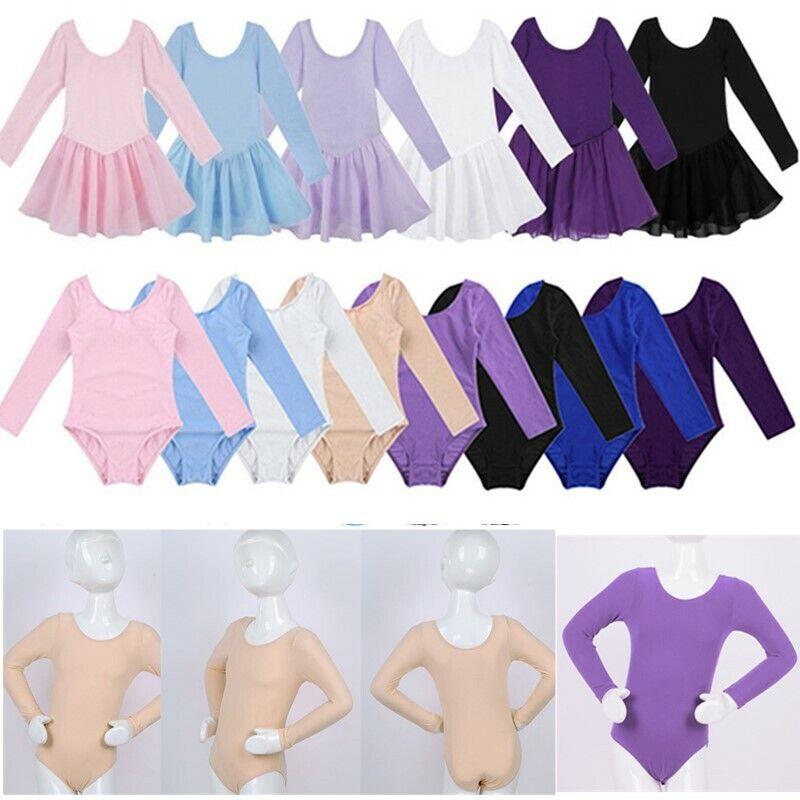 Kids Girls Sport Dancer Ballet Tutu Leotards Dance Dress Skirt Dancewear Costume