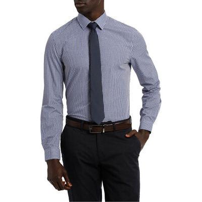 NEW Blaq Slim Slim Hot Price Packaged Shirt Navy