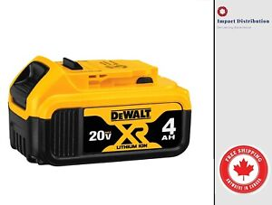 DEWALT DCB204 20-Volt MAX XR Li-Ion 4.0 Ah Battery Single Pack