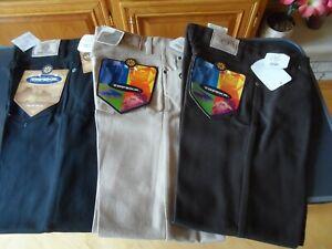 3 Topeka Jeans Pantalon Topeka Size 31x30 Colors Black Kaki And Brown Ebay