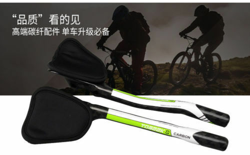 31.8mm Carbon Fiber 12K TT Rest Handlebar Road Bike Bicycle  Triathlon Aero Bar  wholesale