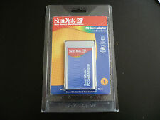 SanDisk SmartMedia Adapter PCMCIA PC Card Reader Writer
