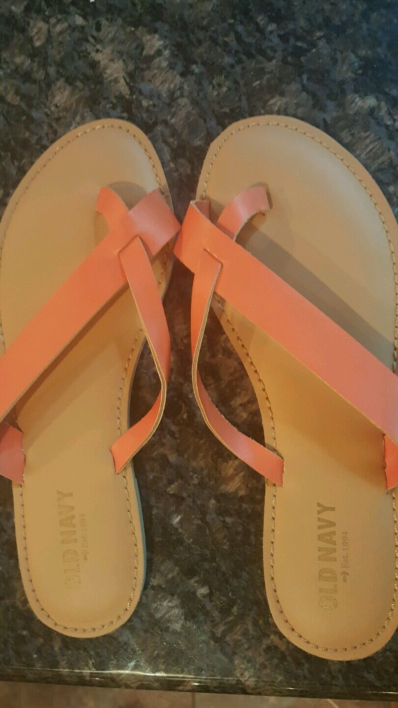 Old navy  sandals  SIZE 7  navy BRAND NEW..NEVER WORN 348a60