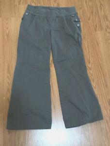 Liz-Lang-Maternity-Gray-Womens-pants-Size-4