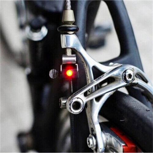 Heiß 1 stück Bremslicht LED Rücklicht Sicherheitswarnlicht für Fahrrad  CBL
