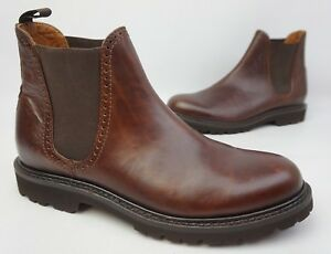 b1878722f8e Details about Wolverine W40420 1000 Mile Cromwell Chelsea Boot Men's  Leather Brown 11 D