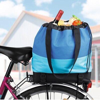 Neue Mode Easymaxx Fahrradtasche Fahrrad-tasche Tasche Für Nahezu Alle Gepäckträger Blau Rohstoffe Sind Ohne EinschräNkung VerfüGbar