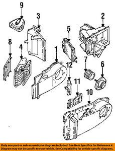 1997 buick lesabre 3 8l engine diagram buick gm oem 92 99 lesabre 3 8l v6 evaporator heater actuator  buick gm oem 92 99 lesabre 3 8l v6