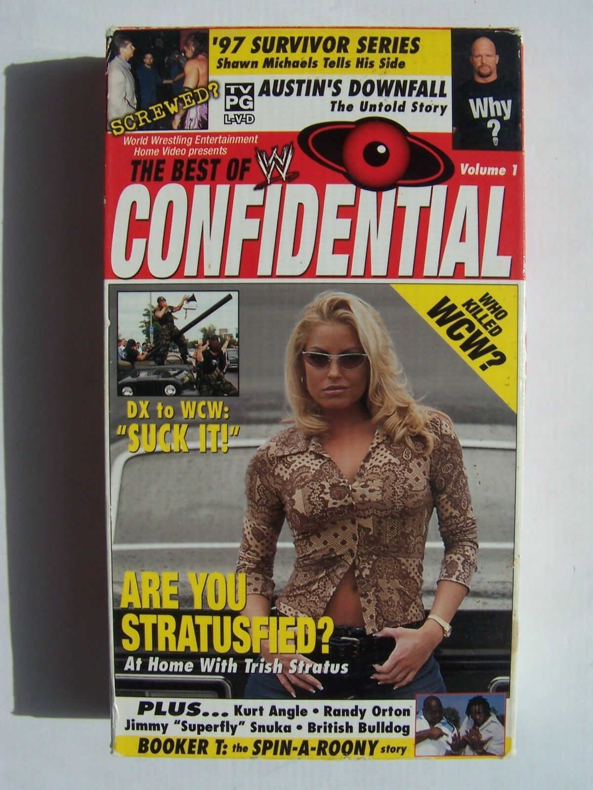 The Best of WWE Confidential Vol 1 VHS Video Tape Trish