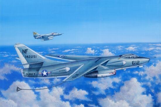Eka-3b Skywarrior Strategic Bomber 1 48 Plastic Model Kit TRUMPETER
